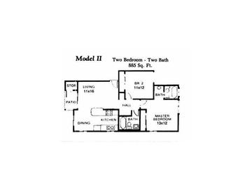 Two Bedroom/2 Bath - Downstairs 4
